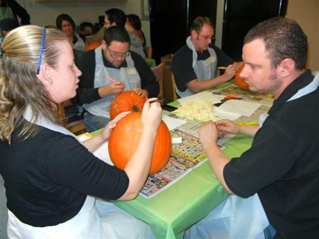 Pumpkin Palooza  - Planning the Design