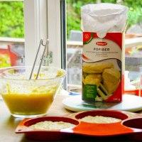 Omregningstabel for nøddemel og fiberprodukter
