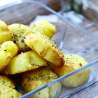 Jamie Olivers sprødstegte kartofler