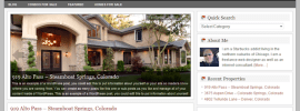 Agent Real estate premium wordpress theme from StudioPress.