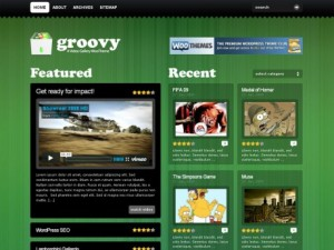 Groovy video Premium WordPress theme from Woo Themes