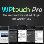 WP Touch Pro premium plugin for mobile display