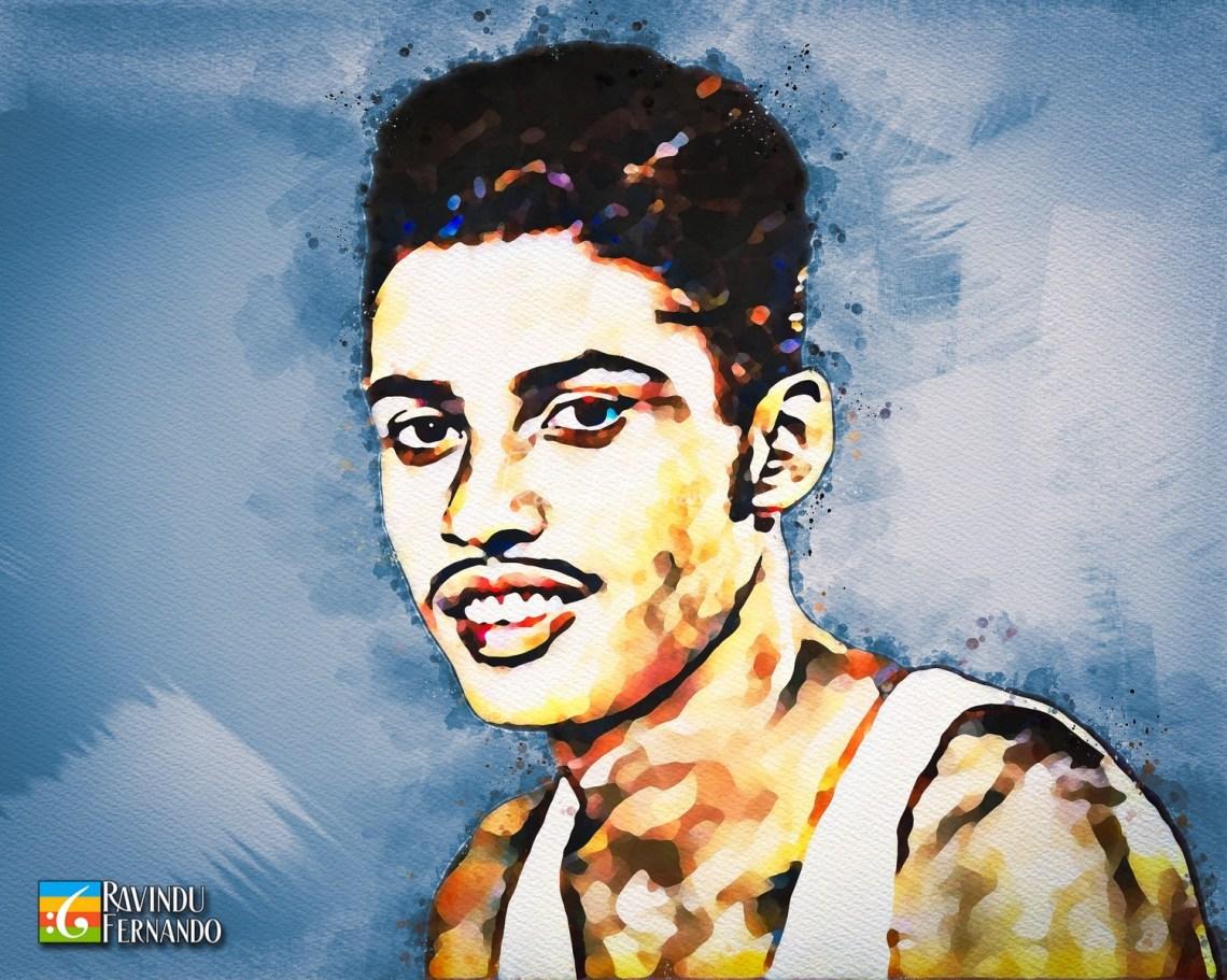 Ranatunge Karunananda - Digital Watercolor Painting