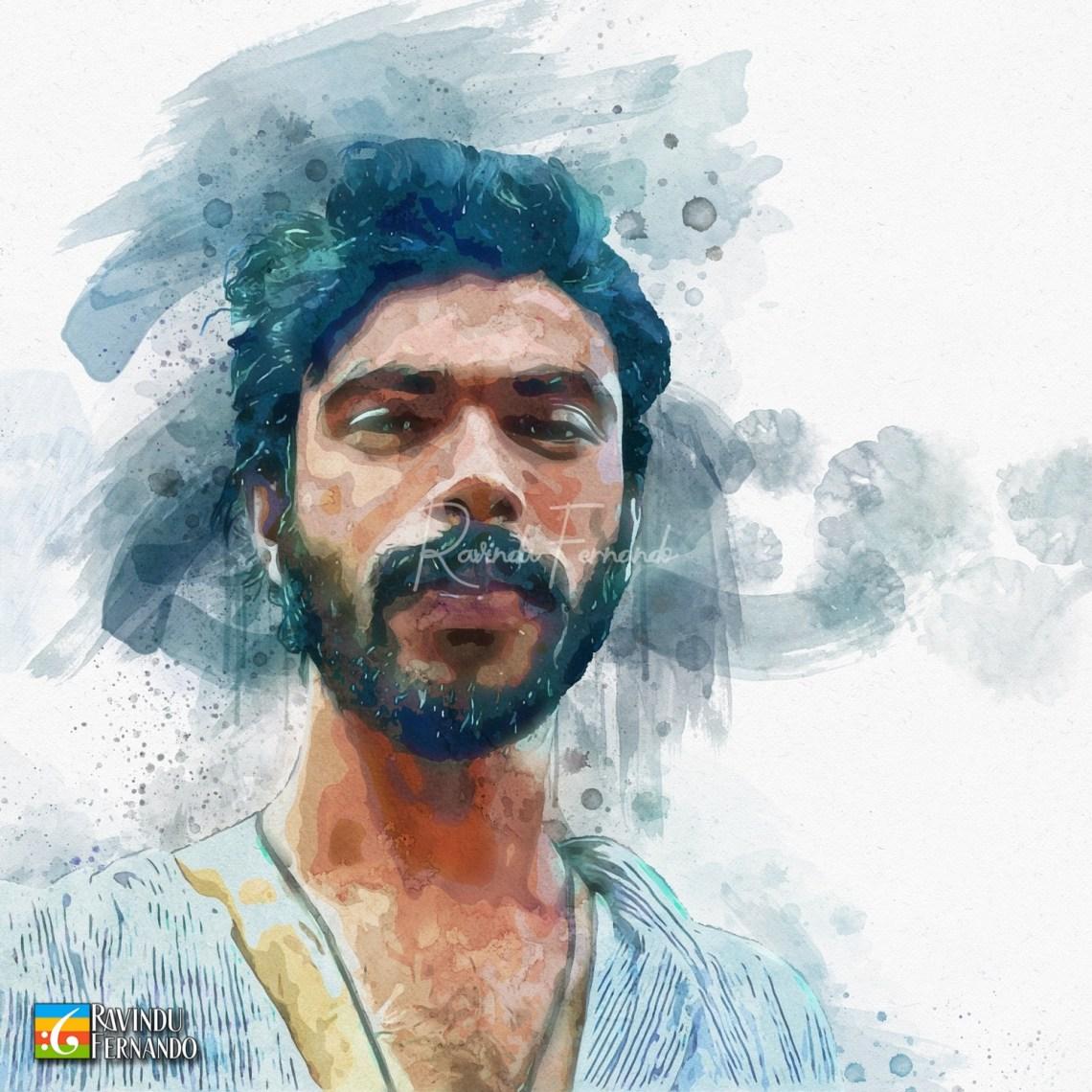 Sudheera Chandrasena - Digital Watercolor Painting