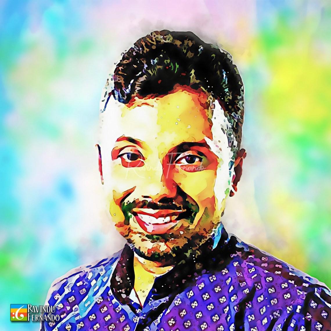 Asanka Ruwan Sagara - Digital Watercolor Painting