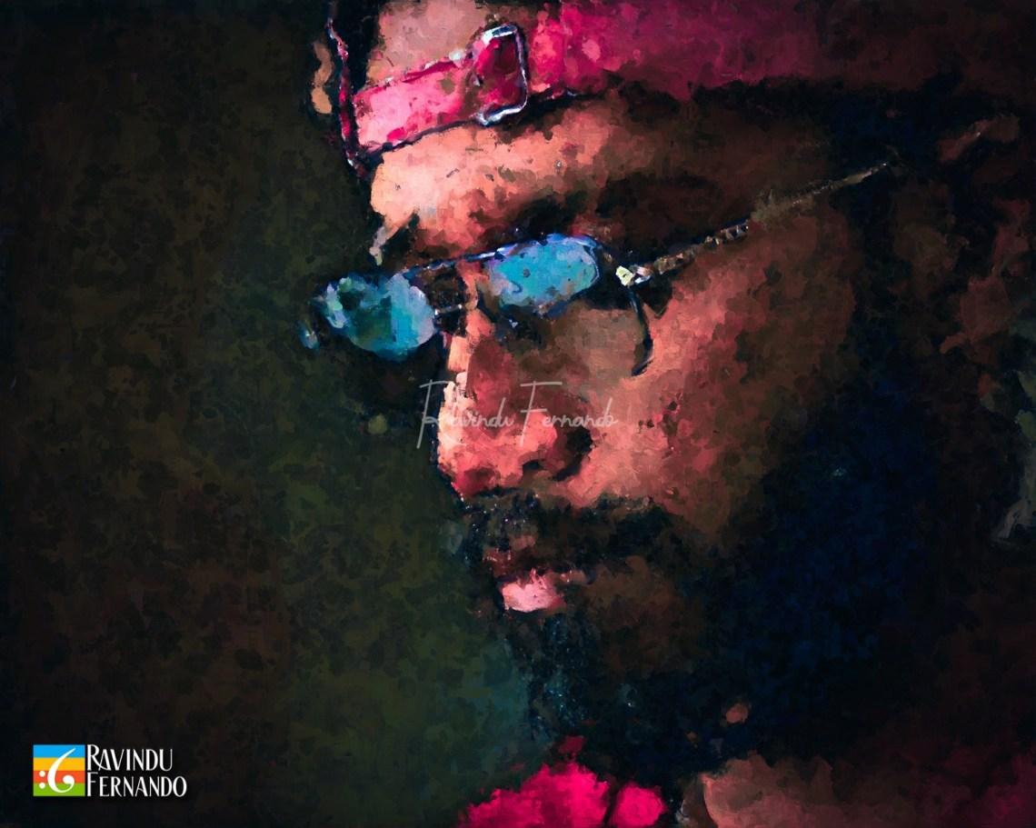 Rathindu Saumya Senarathna (Ratta) Digital Oil Painting by Ravindu Fernando
