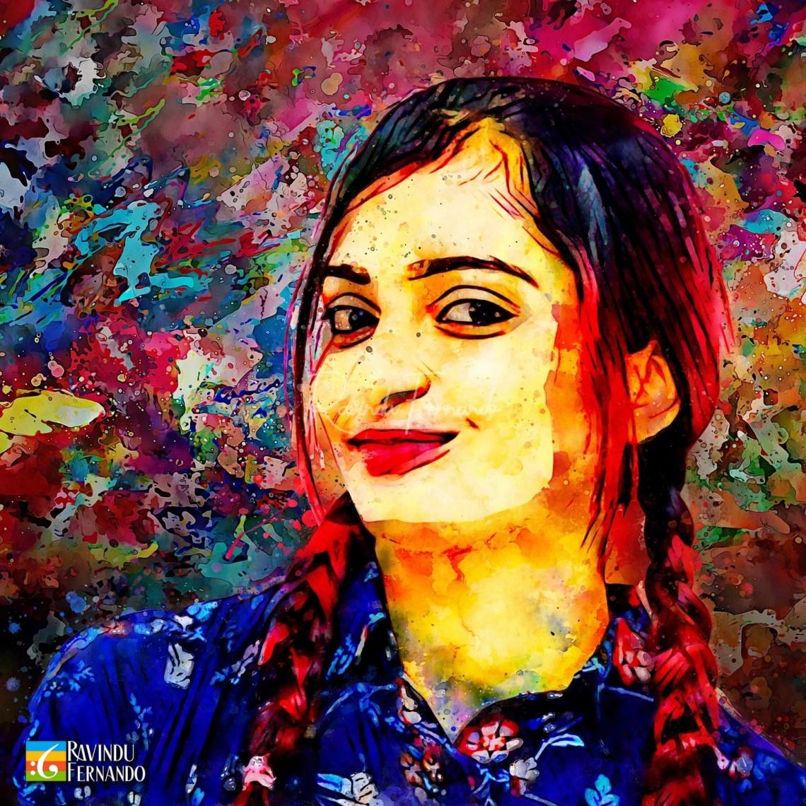 Ridmi Pathirana - Digital Watercolor Painting