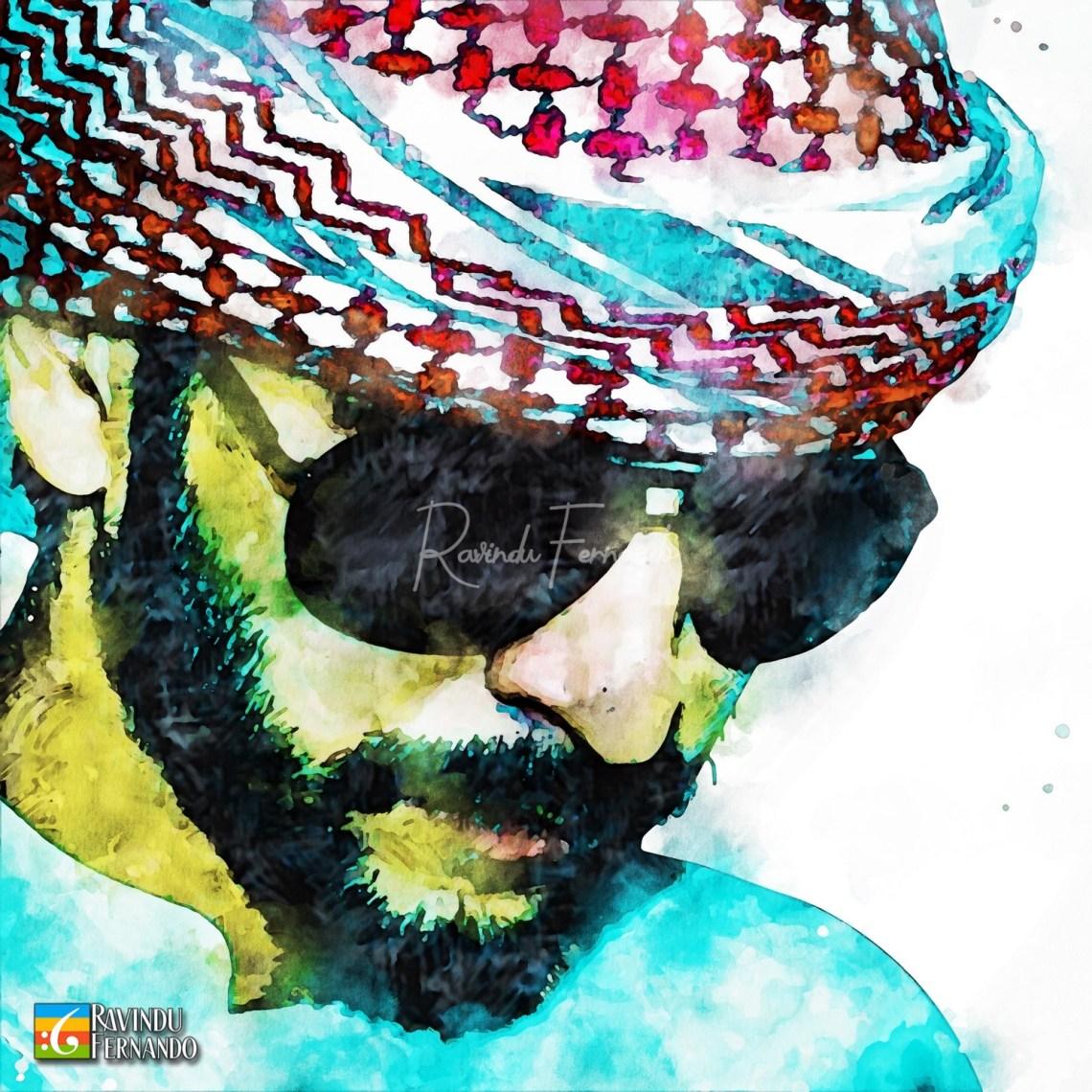 Madhushanka Jayamanne - Digital Watercolor Painting