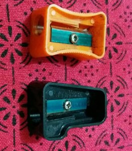Pic of left-handed sharpener in the article on the qualities of effective leaders