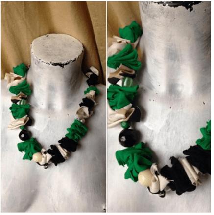 Collane maglie riciclo 2