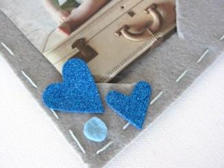 Cuoricini in fommy glitter