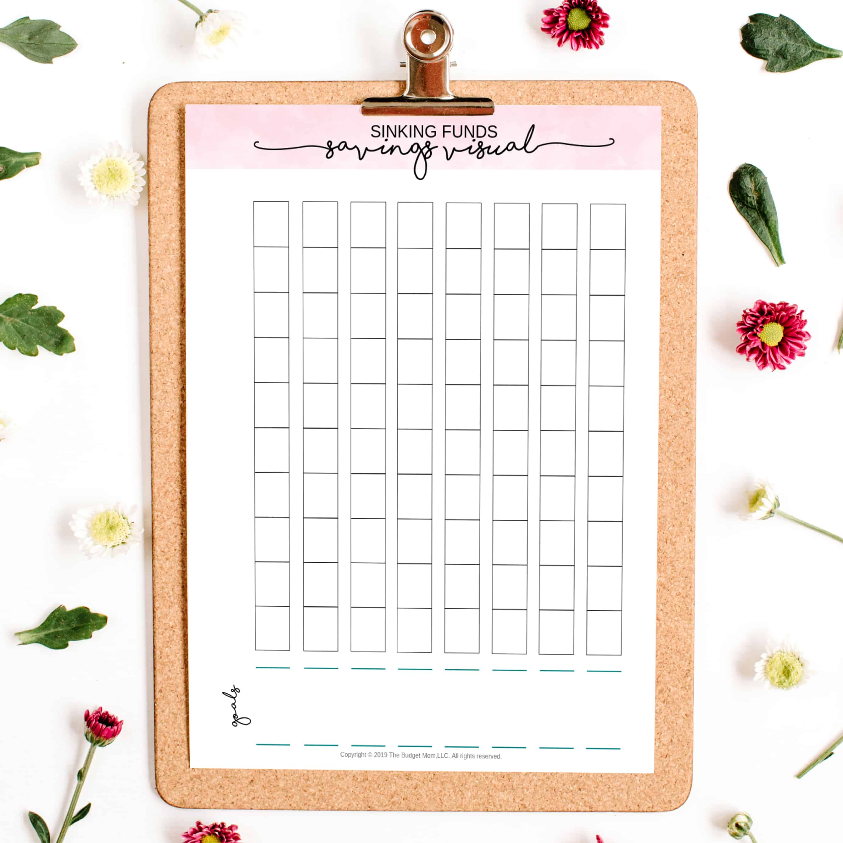 Sinking Funds Savings Trackers Printable
