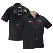 Mechanic Shirt Front and Back