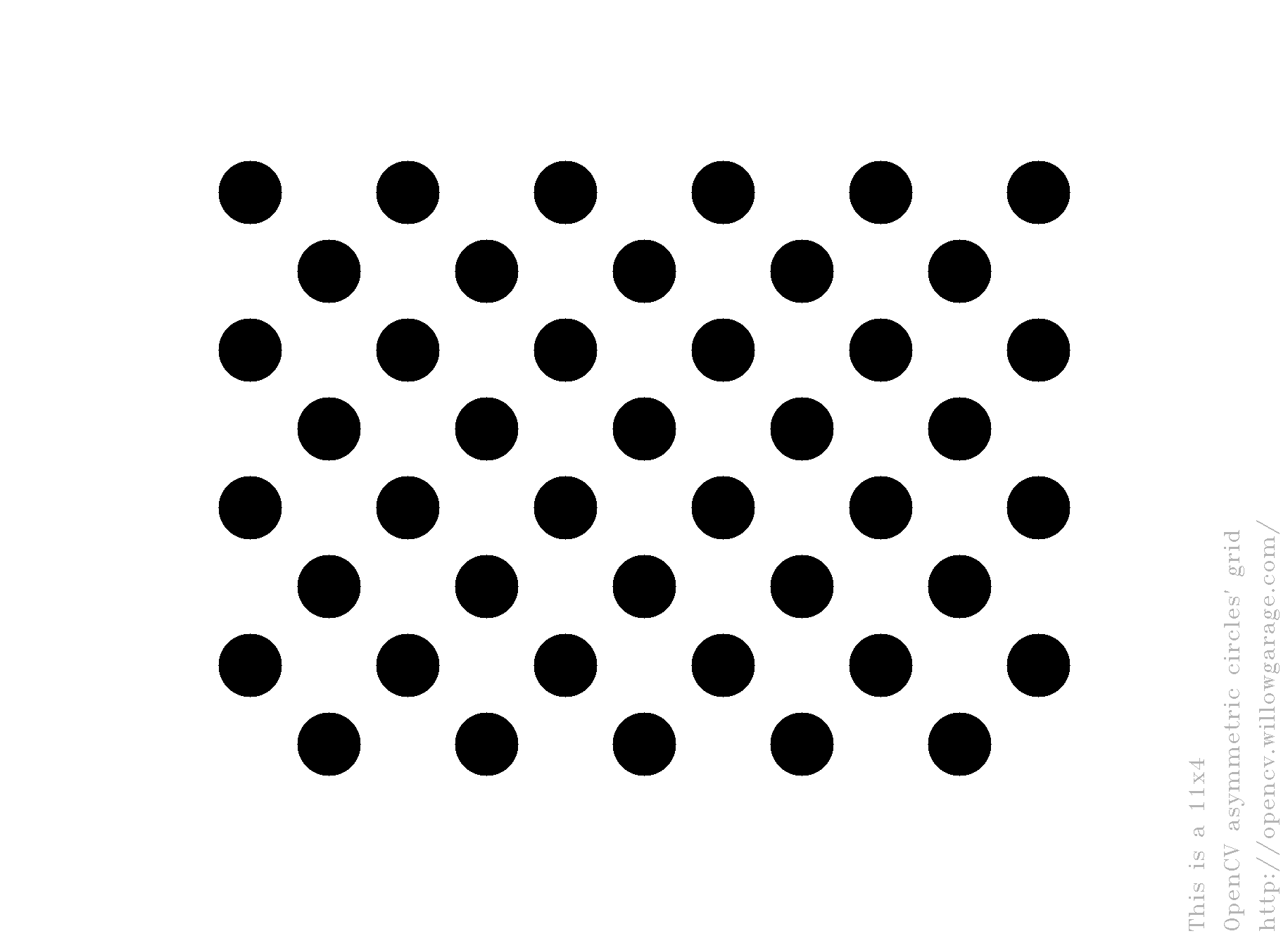 Acircles pattern