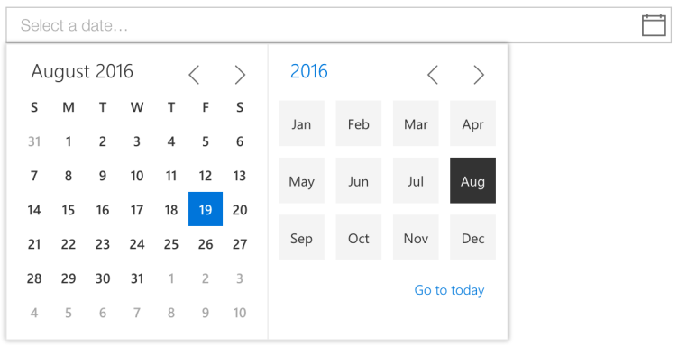 Image result for date picker