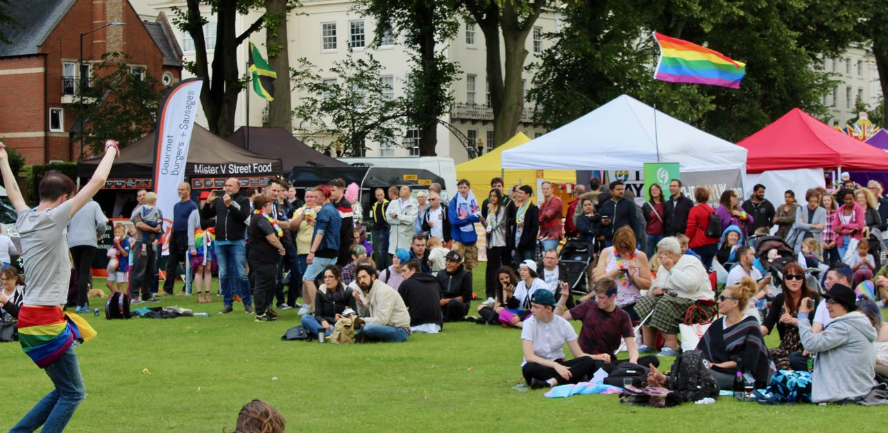 When is this year's warwickshire pride
