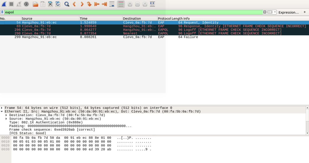 Wireshark Frame Check Sequence Incorrect | Siteframes.co