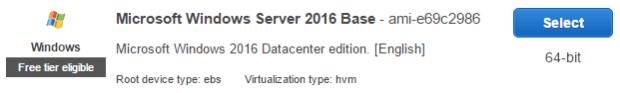 Microsoft Windows Server 2016 Base