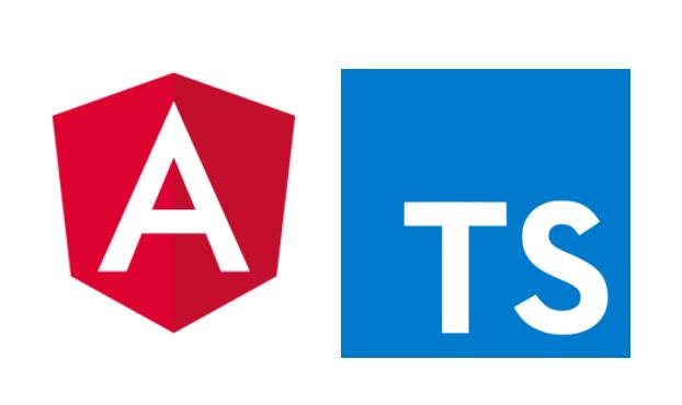 Angular2, TypeScript 로고