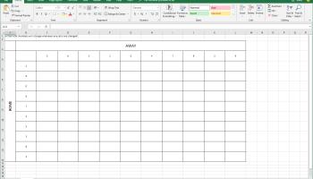 Excel Football Squares Pool Generator | adamprescott net