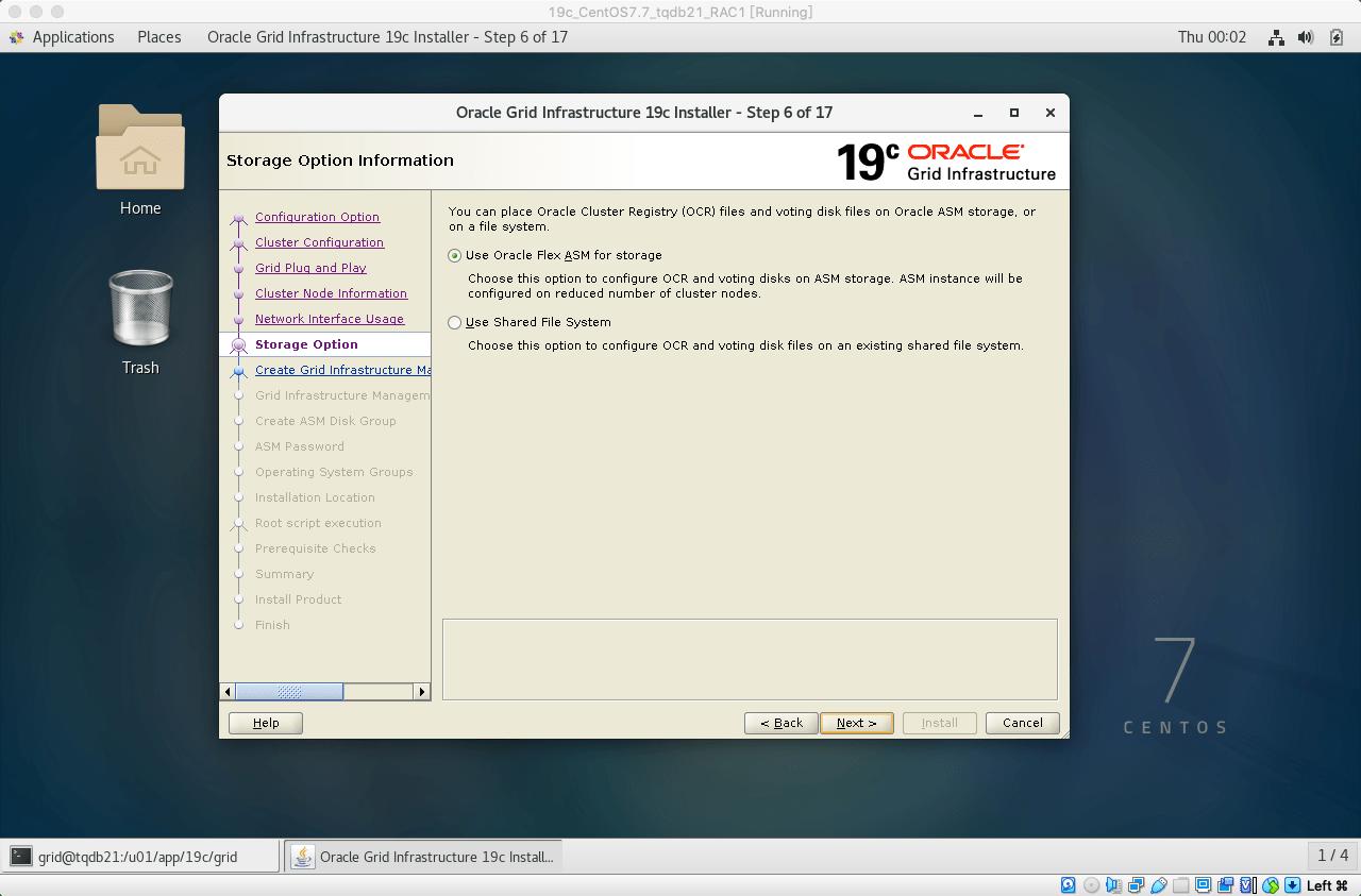 19cRACGRID安装14