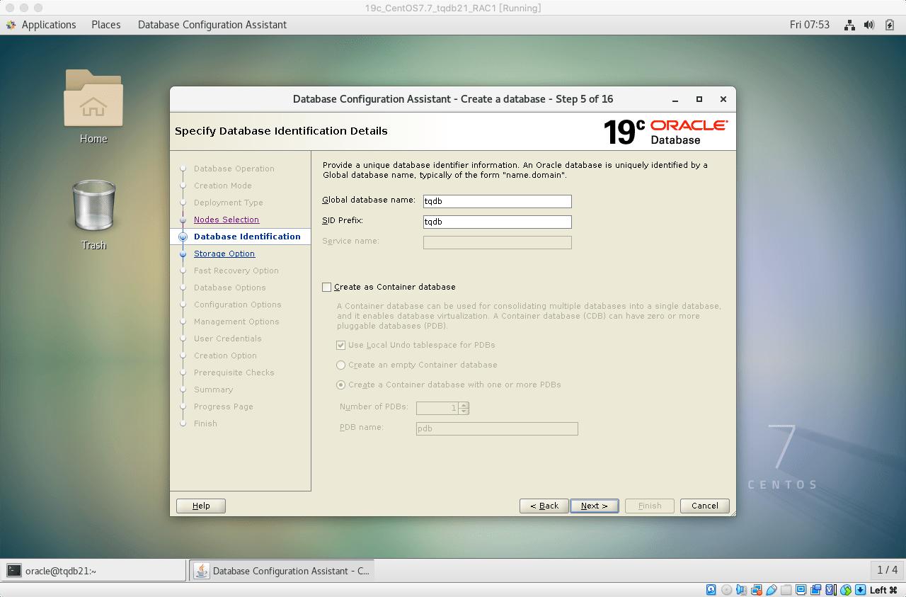 19cRACdbca建库06