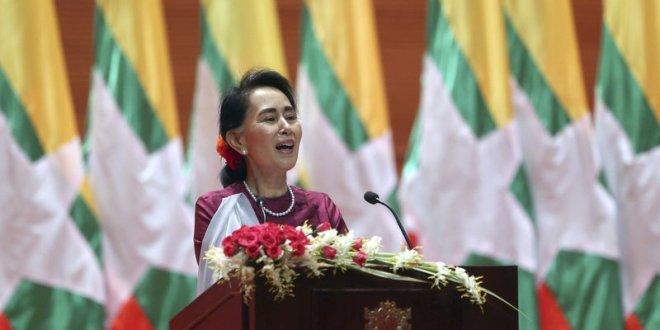Defending Myanmar, Suu Kyi says most Rohingya villages calm