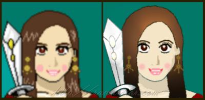 RA Warrior avatar makeover