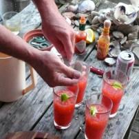 The Raw Bar Yoho Clamdigger Cocktail