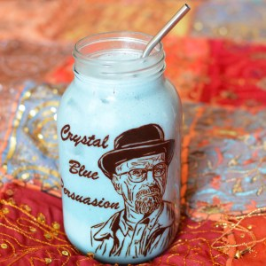 'Breaking Bad' Crystal Blue Banana Smoothie