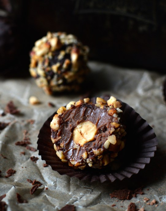 Raw Ferrero Rocher