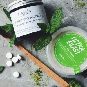 Planet-loving tooth care products