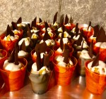 Pumpkin mousse shots