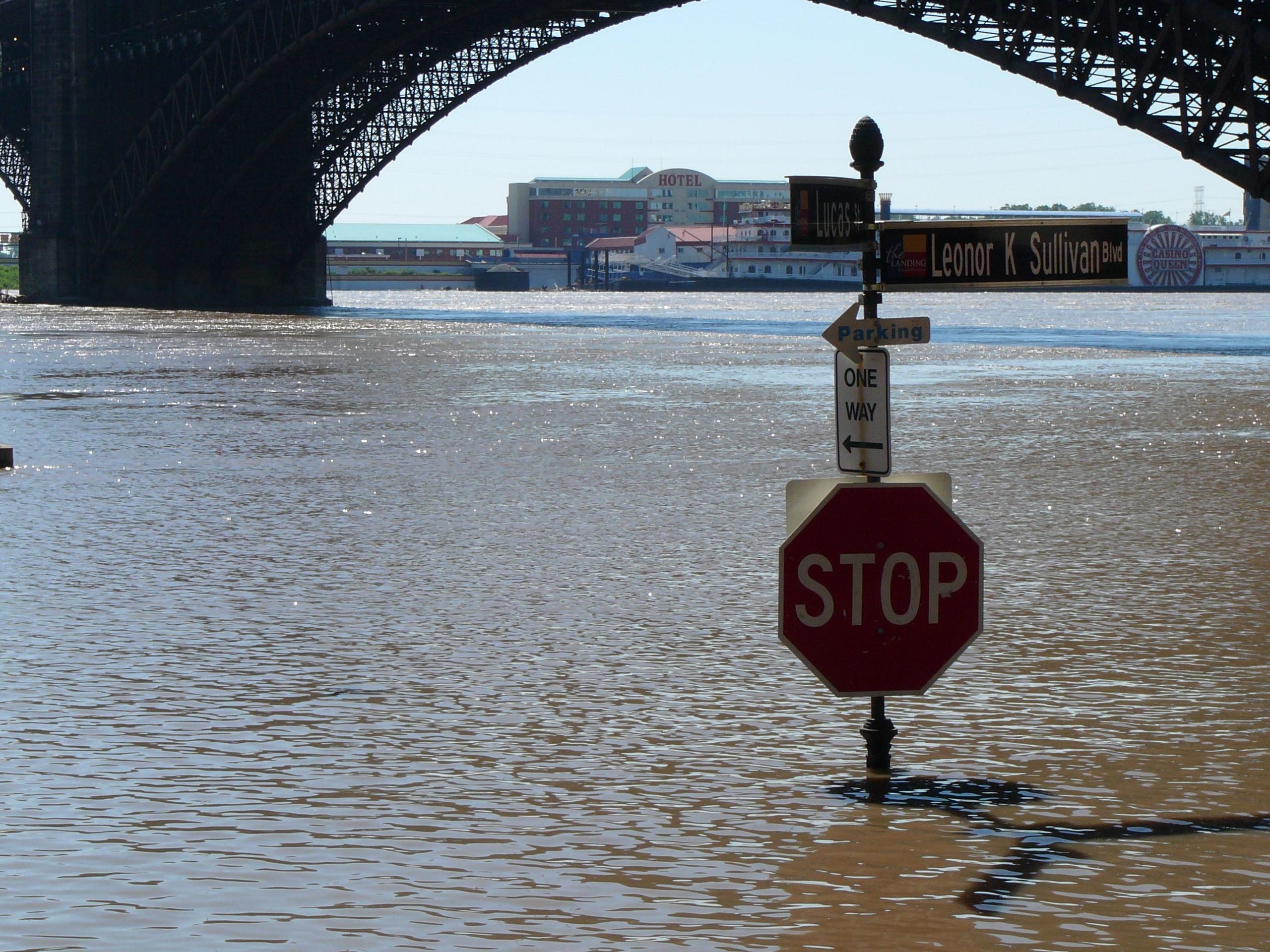 Mississippi Flooding in St. Louis