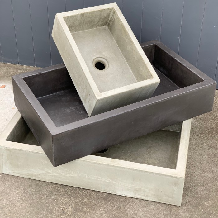 CUSTOM BASINS – PRIVATE CLIENT