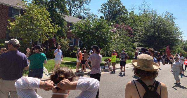 Protesters Target DHS Secretary's Home Over Federal Law Enforcement in Portland