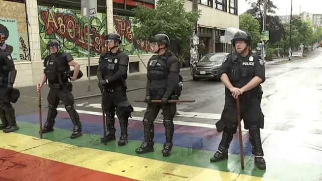 Seattle Police Dismantle CHOP After Protesters Threaten Mayor's $7 Million House