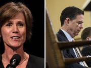 "Yates Throws ""Rogue"" Comey Under The Bus Over Flynn Investigation"