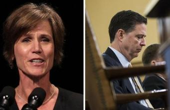"""Yates Throws """"Rogue"""" Comey Under The Bus Over Flynn Investigation"""