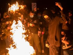 Portland Rioters Hurl Rocks At Officers, Weapons Recovered As Unrest Continues