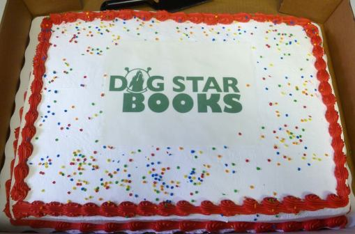 Dog Star Books cake