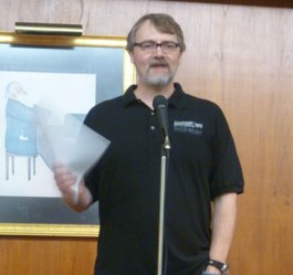 Michael Arnzen at Bexley Public Library