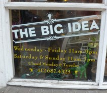 The Big Idea was a neat co-op store