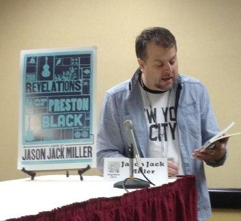 Jason Jack Miller reading