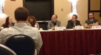Perishing Publishers panel
