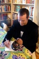 Signing books