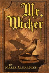 Mr. Wicker horror novel cover art