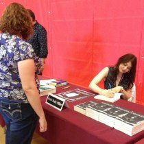 Heidi Ruby Miller signing