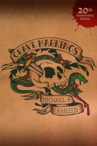 Grave Markings horror novel cover art