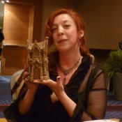 Snowed author Maria Alexander stoker award win